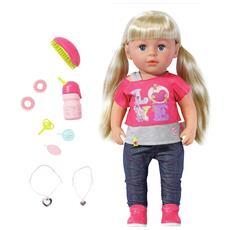 820704, Ragazza, Multicolore, Braccialetto bambola, Spazzola capelli per bambola, Doll leggings, Doll shirt, Feeding bottle, Femmina