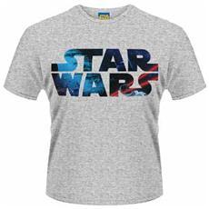 Star Wars - Space Logo (T-Shirt Unisex Tg. XL)