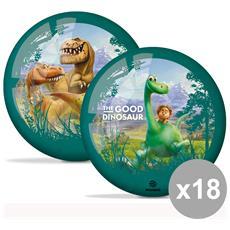 Set 18 Pallone 23 Cm. Dinosauri 06988 Giocattoli