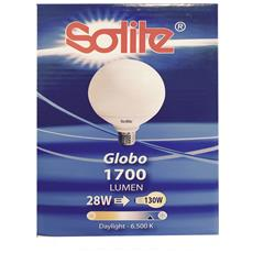 Lampadina Globo Fluorescente E27 28w