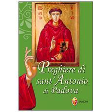 Preghiere di sant'Antonio di Padova