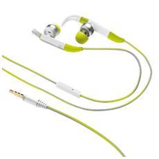Fit auricolari in-ear sport con aggancio regolabile over-the-ear e microfono in linea - green