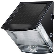Lampada solare da parete a LED SOL 04 plus IP 44 nero