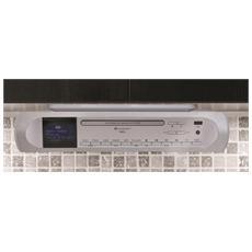 UR2170SI, Digitale, DAB+, FM, Lettore, CD, CD-R, CD-RW, 6W, LCD
