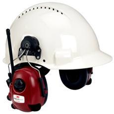 M2RX7P3E2-01 Stereofonico Padiglione auricolare, Casco Nero, Rosso, Bianco cuffia e auricolare