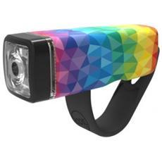 Luce Anteriore a LED Bianco per Bici Colore Multicolore