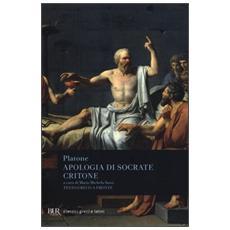 Apologia di SocrateCritone. Testo greco a fronte