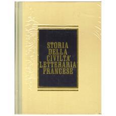 Storia della civiltà letteraria francese. Con dizionario (3 voll.)