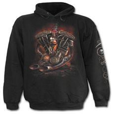 Spiral - Steam Punk Rider - Black (Felpa Tg. L)