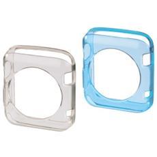 1x2 protezione Crystal Apple Watch 42mm trans / blu