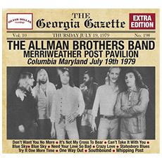 Allman Brothers Band - Merriweather Post Pavilion, 19Th July 1979
