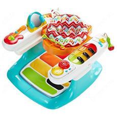 Baby Gear Baby Piano Tante Attività 4 in 1
