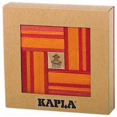 Set Costruzioni In Legno 40 Pz Rosso E Arancione Kapl172106
