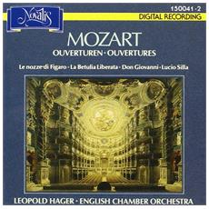 Leopold Hager - English Chamber Orchestra - Mozart Overtures