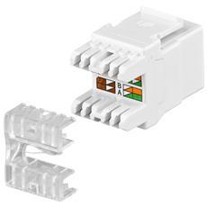 Keystone Cat5 UTP LSA, Bianco