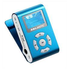 Lettore MP3 8GB Sintonizatore FM Display da 1.1'' colore Azzurro