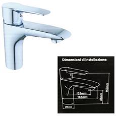 Miscelatore Rubinetto 52339 Doccia Bagno Lavabo Lavandino Monoforo Monocomando Rubinetteria