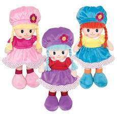 Bambola Pezza Cappellino 35cm