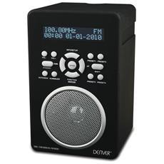 DAB-43PLUS BLACK Personale Analogico e digitale Nero, Argento radio
