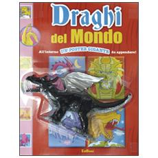 Draghi del mondo. Leggi colora e gioca. Con poster