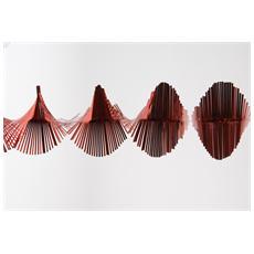 Frangia Spirale da 1.5 Metri Colore Rosso