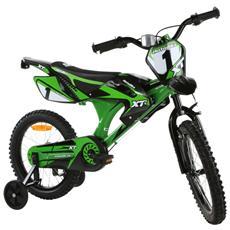 Bicicletta 16 Boy Motobike Uomo 01V. Verde 104 (1/2014)