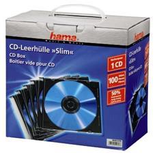 Custodia CD SLIM 100 pz.