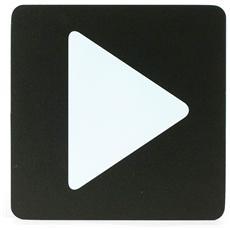 Segnaletica Targa Freccia Pittogrammi 16X16 Con Adesivo