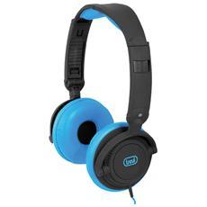 Cuffie Con Microfono Dj 605 M Blu
