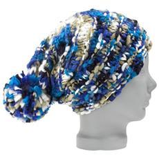 Cappello Nana Da Donna Unica Blu Bianco