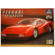 Vintage Ferrari Testarossa Rpm '91 1:24 Scale Italeri 240 Model Car Kit Complete