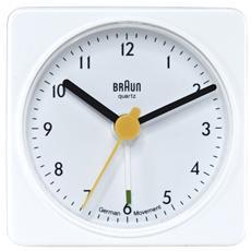 Orologio Sveglia al Quarzo Colore Bianco - Modello BNC 002