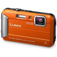 Fotocamera Impermeabile Sensore CCD 16Mpx Colore Arancione