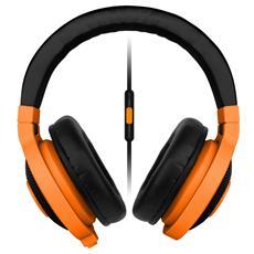 Kraken Mobile Cuffie a Padiglione con Microfono - Arancione