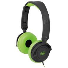 Cuffie Con Microfono Dj 605 M Verde