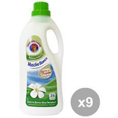 Set 9 Mmorbidente 26 Mis. muschio Bianco Detergen