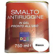 Smalto Sintetico Antiruggine E Di Finitura In Gel 0,75 Lt Bianco Lucido - 33001
