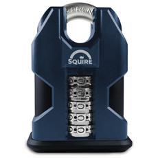Lucchetto Ad Alta Sicurezza Con Codice E Maniglia Protetta 50 Mm Squire Ss50c Combi
