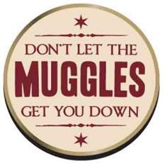 Harry Potter: Muggles (badge Smaltato)