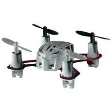 Nano Quad Mini Drone colore Bianco e Rosso