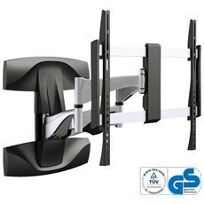 """Supporto a Parete Piatto per Monitor TV e LCD Nera 32""""- 70"""" 23110B"""