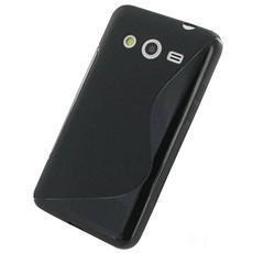 Cover S-Line in silicone Nero per Samsung Galaxy Core 2