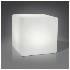 Cubo Lampada Da Tavolo A Led Multicolore Da Interno / esterno Gallegginate
