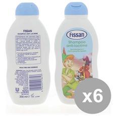Set 6 Kids Shampoo 200ml Boy