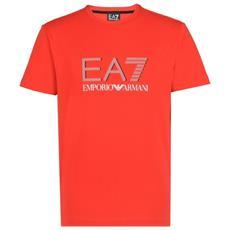 T-shirt Uomo Train Logo Series S Rosso