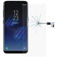 Pellicola Vetro Temperato Samsung Galaxy S8, Antigraffi Anti-riflesso Ultra-clear Durezza 9h, Spessore Di 0,2 Mm, bordi Arrotondati Da 2,5d