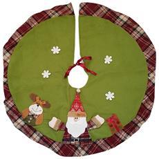 Sottoalbero Di Natale Diam. 75 Cm Verde