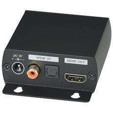 Convertitore Audio Hdmi Per Inserire O Estrarre L'audio Digitale Su O Da Dispositivi Hdtv Abilitati Arc.