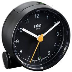 Orologio Sveglia al Quarzo Colore Nero- Modello BNC 001