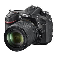 NIKON - D7200 Nero Kit 18-105mm F / 3.5-5.6 G ED VR Sensore CMOS 24Mpx Display 3'' Filmati Full HD...
